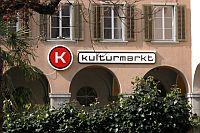 Kulturmarkt: Logo auf Fasade