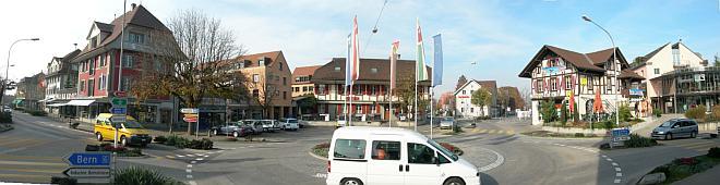 Hirschenplatz / Kreisel Lyss